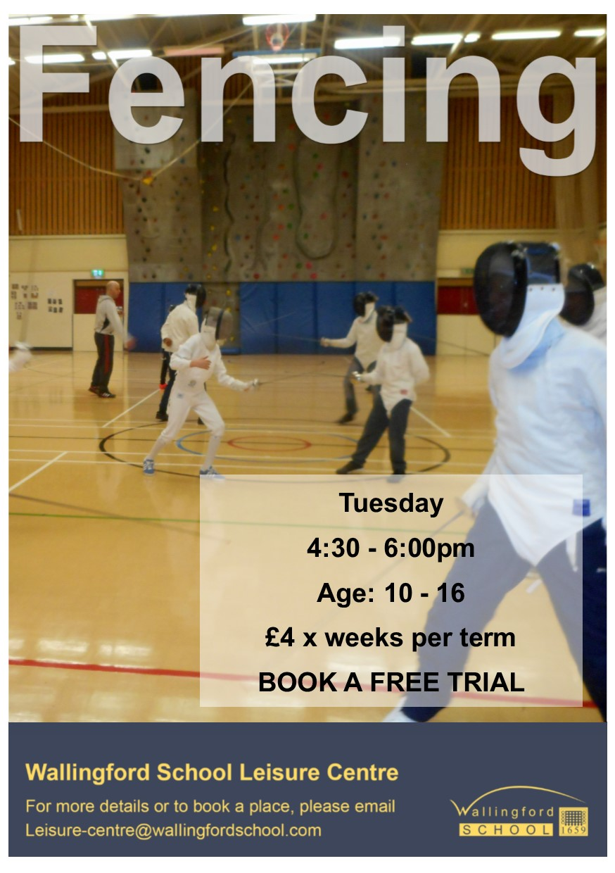Fencing at Wallingford Leisure Centre